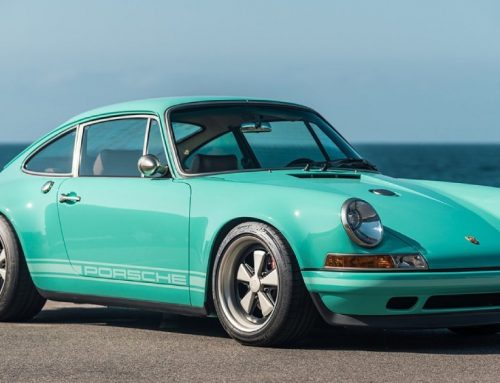 The California Coast Inspired This Refurbished Porsche 911