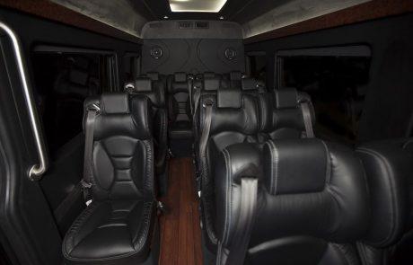 Boston Coach - Mid Size Coach Interior