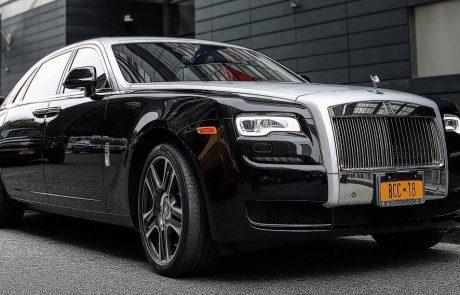 Boston Coach - Rolls Royce Phantom Parked View