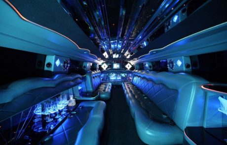 Boston Coach - Stretch Hummer Limousine Interior