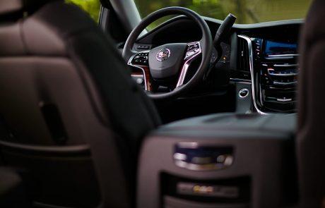 Boston Coach - Cadillac Escalade Driver View