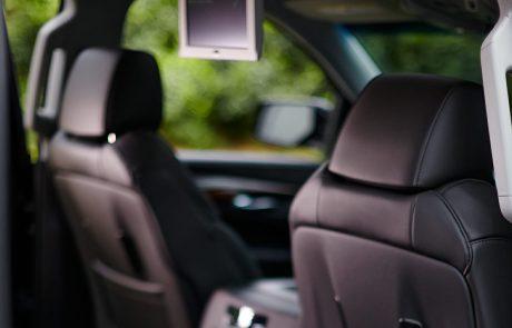 Boston Coach - Cadillac Escalade Rear View