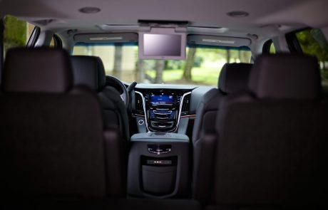 Boston Coach - Cadillac Escalade InteriorView