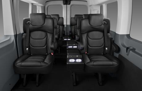 Boston Coach - Conversion Van Passenger View