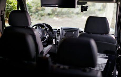 Boston Coach - Mercedes Sprinter Interior