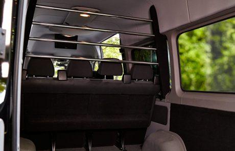 Boston Coach - Mercedes Sprinter Rear View