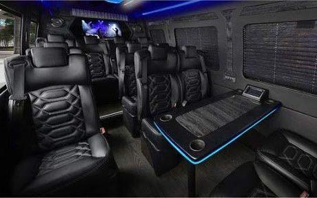 Boston Coach - Mid Size Coach Interior View